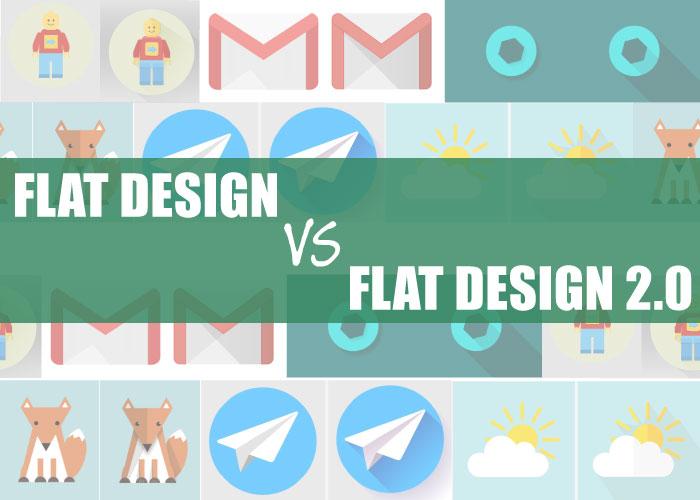 Web Design Trends Flat Design Vs Flat Design 2 0 Webski Solutions