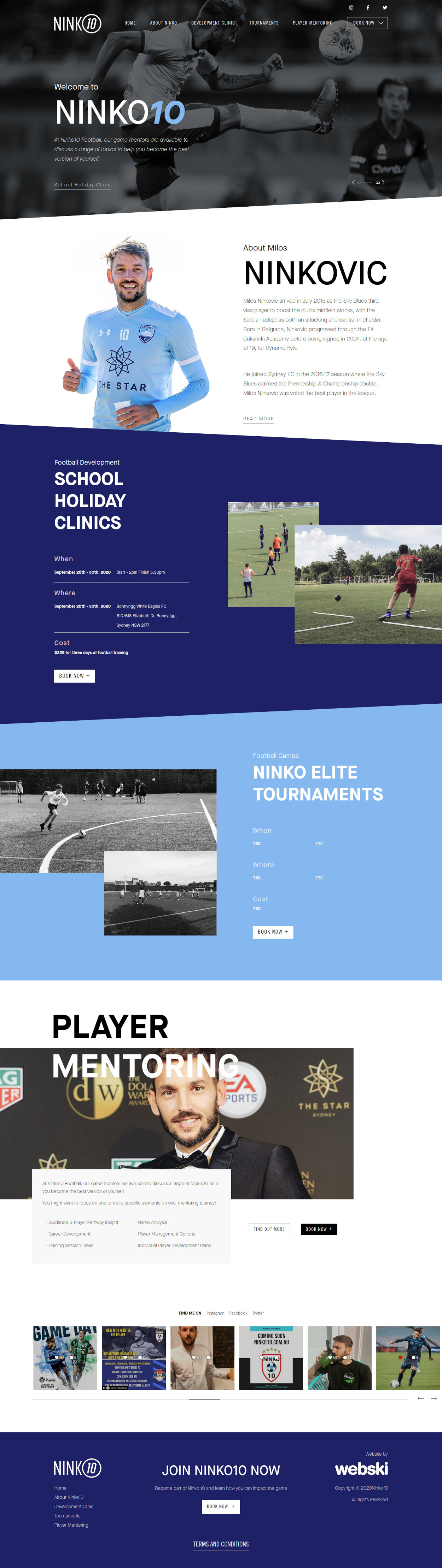 sport-website-design-sydney