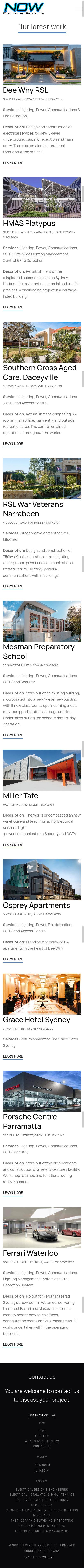 website-design-electrical-contractor